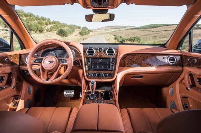 Bentley Bentayga - SUV sang nhat the gioi co gi dac biet hinh anh 3