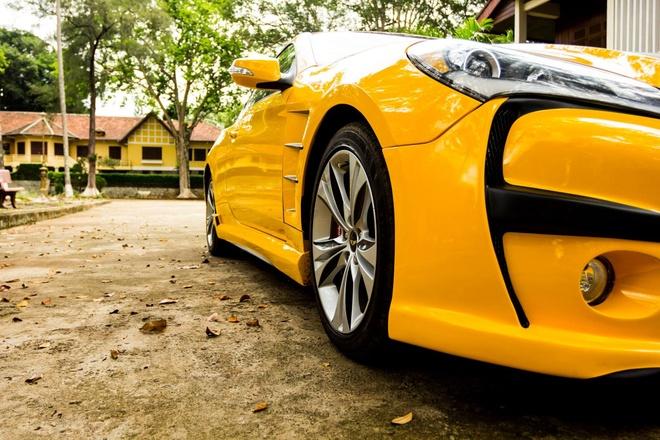 Hyundai Genesis do phong cach Aston Martin One 77 o Dak Lak hinh anh 6