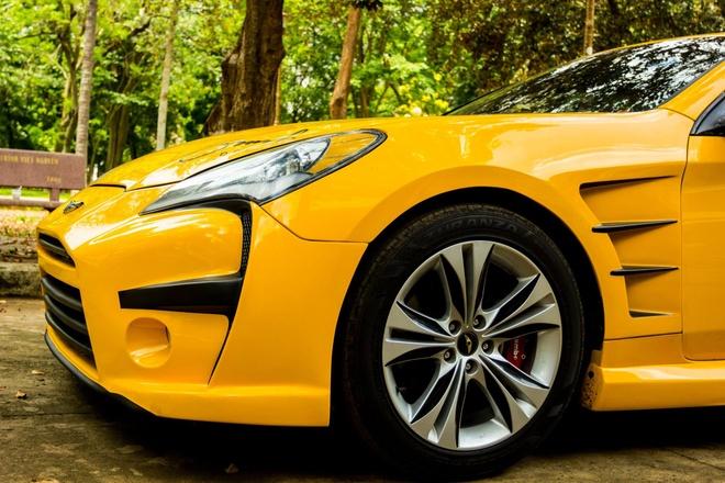 Hyundai Genesis do phong cach Aston Martin One 77 o Dak Lak hinh anh 8