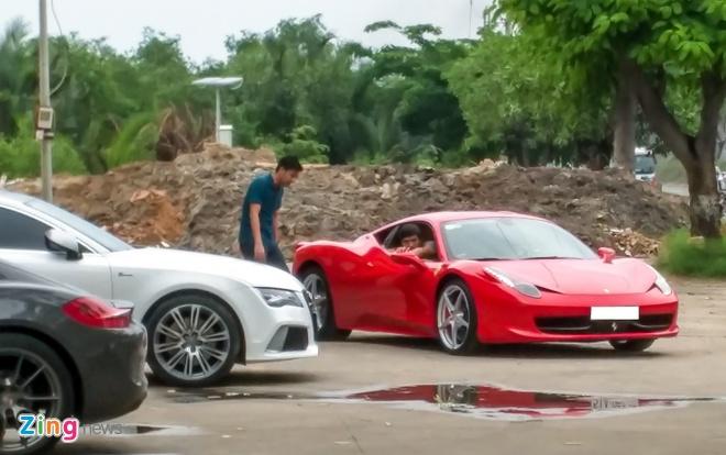 Ferrari 458 Italia tai xuat sau tai nan o Sai Gon hinh anh 3