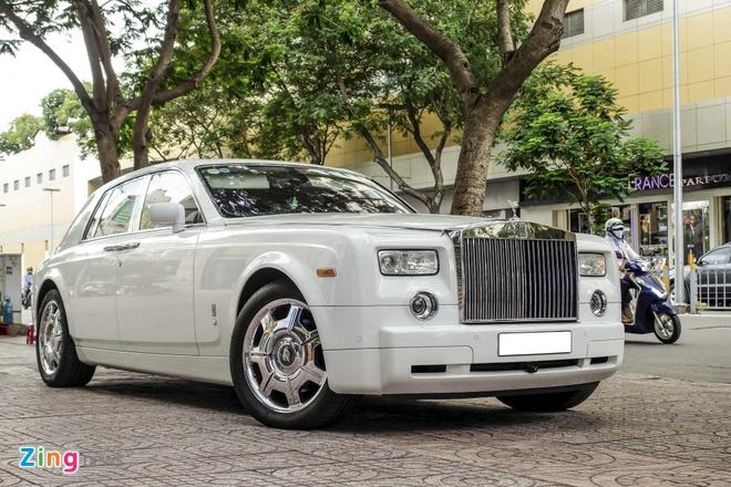 Rolls-Royce Phantom cua thieu gia Phan Thanh o Sai Gon hinh anh 1