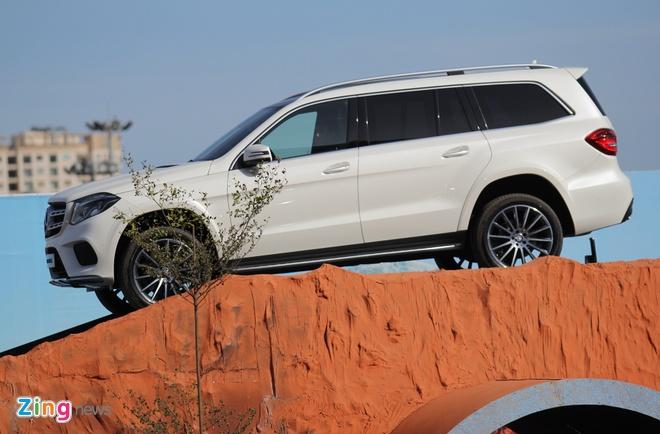 Mercedes GLS ra mat tai Viet Nam anh 1