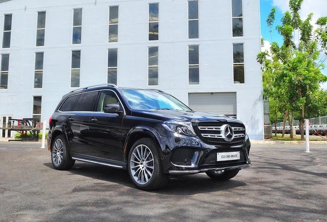 Mercedes GLS ra mat tai Viet Nam anh 11