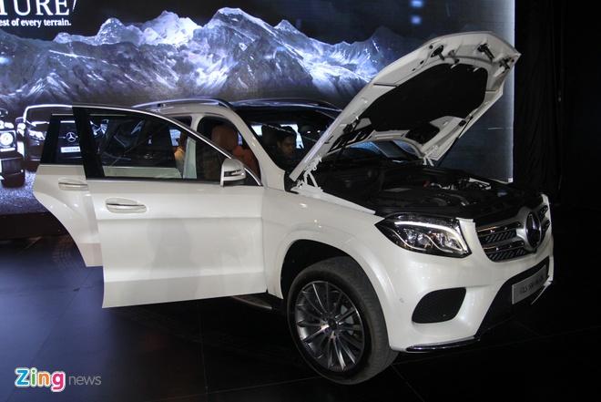 Mercedes GLS ra mat tai Viet Nam anh 2