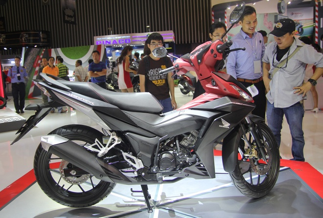 Honda Winner khoi mao cuoc chien con tay 150cc tai Viet Nam hinh anh