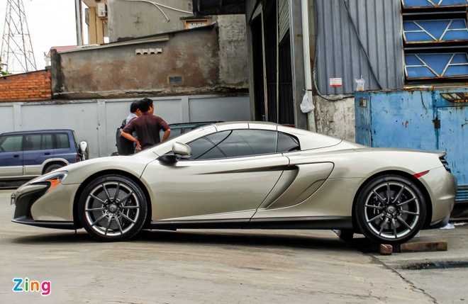 Chi tiet McLaren 650S Spider MSO ban gioi han o Sai Gon hinh anh 4