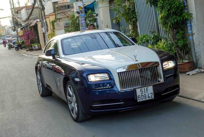 Rolls-Royce Wraith - thu choi moi cua dai gia Sai Gon hinh anh