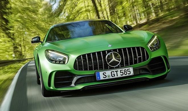 Video gioi thieu tinh nang Mercedes AMG GT R hinh anh
