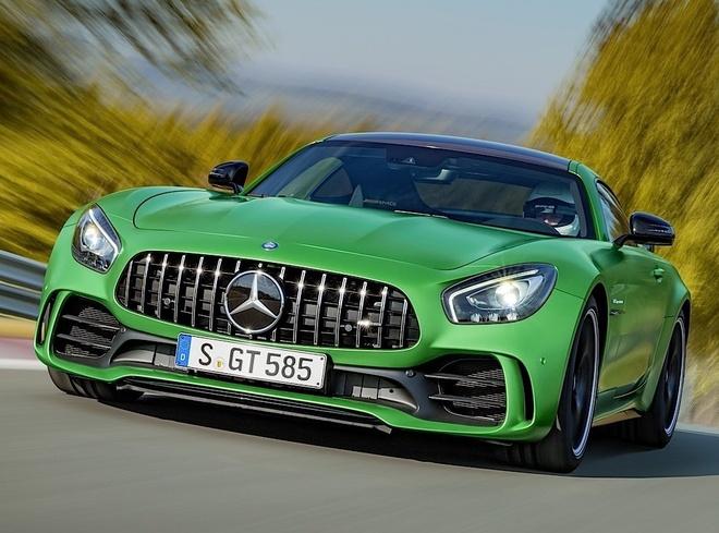 Mercedes-AMG GT R 2017 ra mat: manh me, du ton hon hinh anh