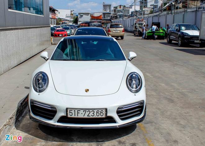 Sieu xe Porsche 911 Turbo S thu 2 ve Viet Nam gia 14,5 ty hinh anh 1