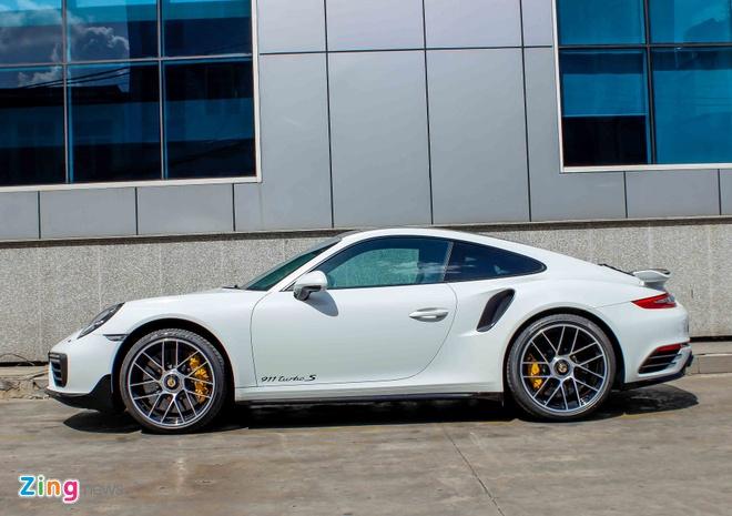 Sieu xe Porsche 911 Turbo S thu 2 ve Viet Nam gia 14,5 ty hinh anh 2