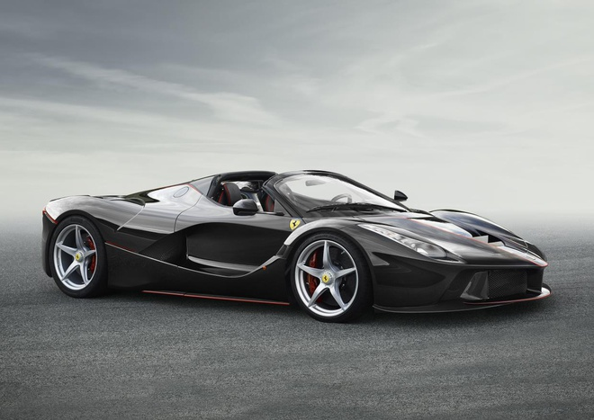 Lo anh chinh thuc sieu xe Ferrari LaFerrari Spider hinh anh 2