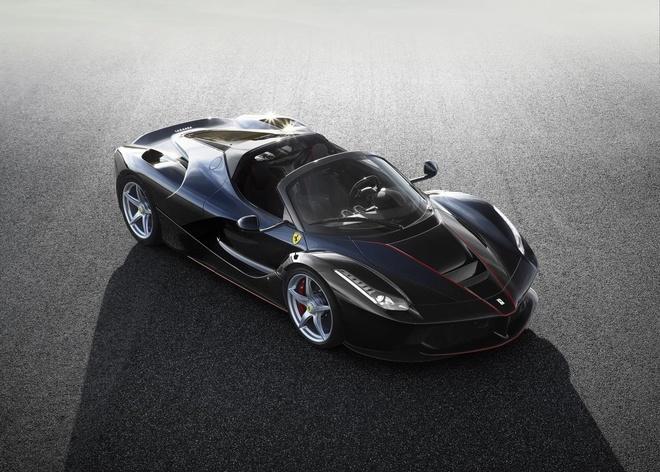 Lo anh chinh thuc sieu xe Ferrari LaFerrari Spider hinh anh 3