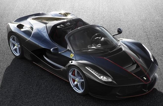 Lo anh chinh thuc sieu xe Ferrari LaFerrari Spider hinh anh