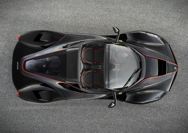 Lo anh chinh thuc sieu xe Ferrari LaFerrari Spider hinh anh 1