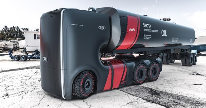xe tai Audi concept anh 1