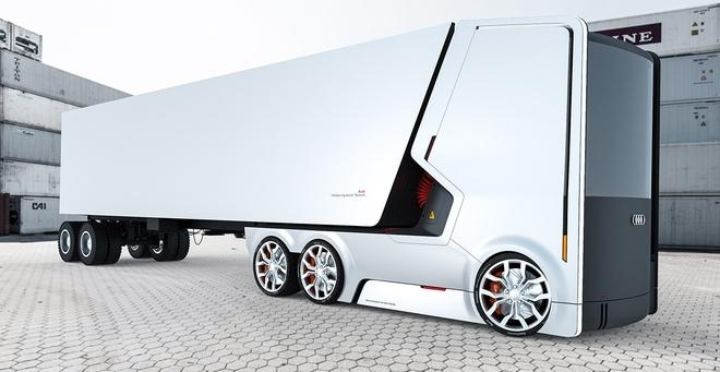 xe tai Audi concept anh 3
