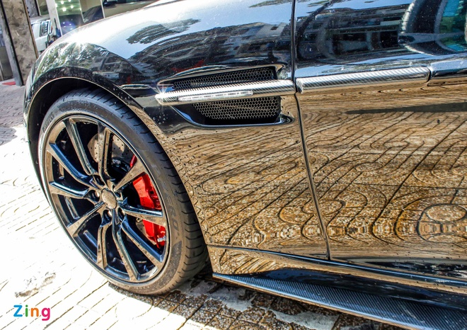 Aston Martin Vanquish mui tran dau tien ve Viet Nam hinh anh 6