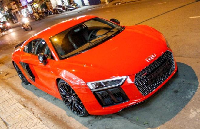 Sieu xe Audi R8 V10 Plus ve tay thieu gia Phan Thanh hinh anh