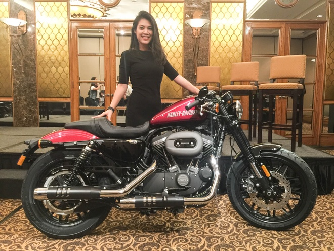Harley Davidson Roadster 1.200 phan khoi ra mat tai Viet Nam hinh anh
