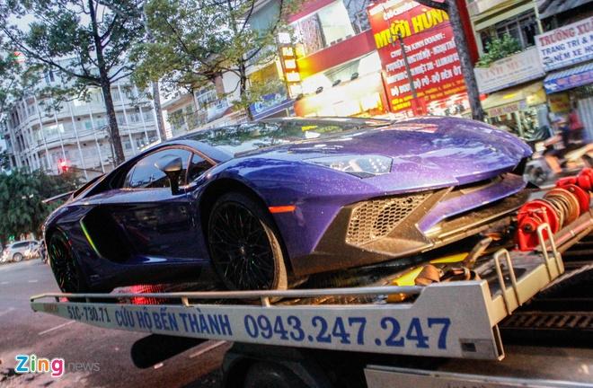 Chi tiet Lamborghini Aventador SV duy nhat tai Viet Nam hinh anh 1