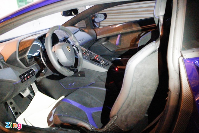 Chi tiet Lamborghini Aventador SV duy nhat tai Viet Nam hinh anh 10