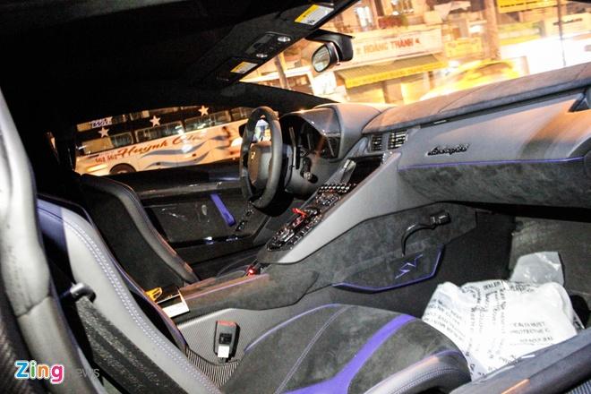 Chi tiet Lamborghini Aventador SV duy nhat tai Viet Nam hinh anh 11