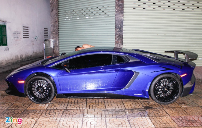 Chi tiet Lamborghini Aventador SV duy nhat tai Viet Nam hinh anh 3