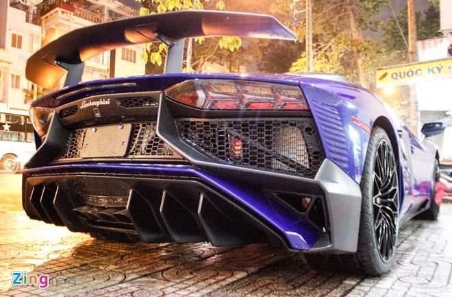 Chi tiet Lamborghini Aventador SV duy nhat tai Viet Nam hinh anh 5