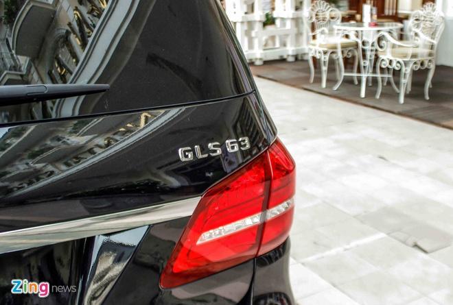 Mercedes GLS63 gia 8,4 ty dong dau tien ra dang ky o Sai Gon hinh anh 8