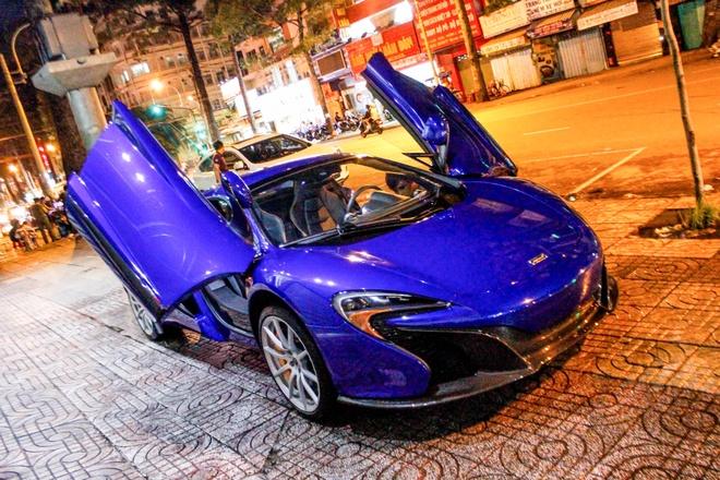 McLaren 650S Spider mau hiem ve Sai Gon hinh anh