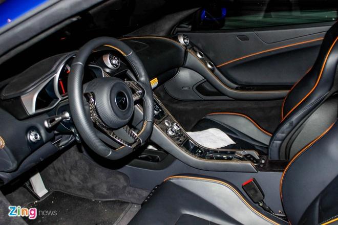 McLaren 650S Spider mau hiem ve Sai Gon hinh anh 6