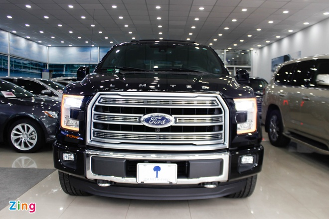 xe ban tai Ford F-150 Viet Nam anh 1