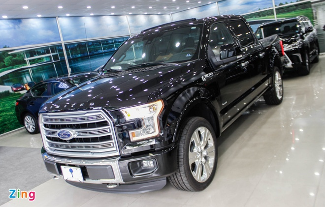 xe ban tai Ford F-150 Viet Nam anh 2