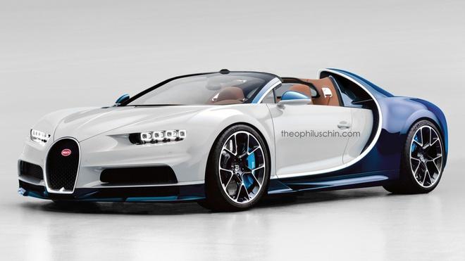 Bugatti Chiron khong co phien ban mui tran hinh anh
