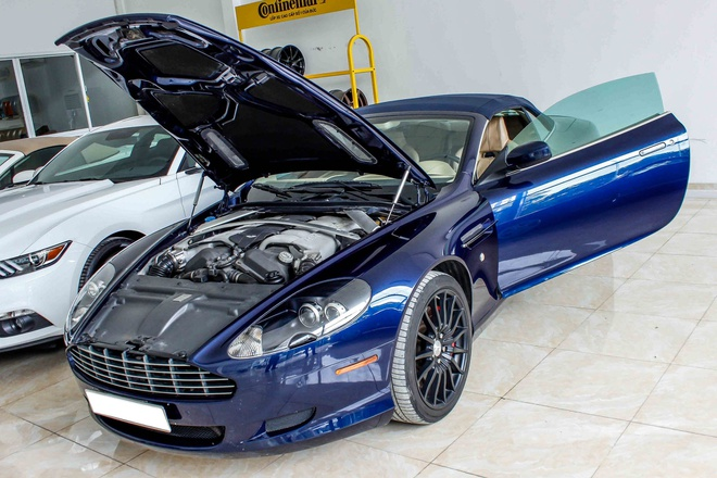 Aston Martin DB9 - sieu xe vang bong mot thoi tai Viet Nam hinh anh