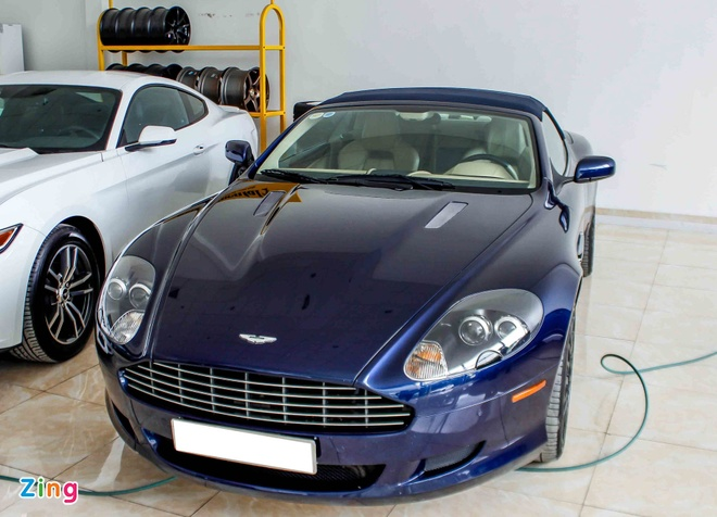 Aston Martin DB9 - sieu xe vang bong mot thoi tai Viet Nam hinh anh 1