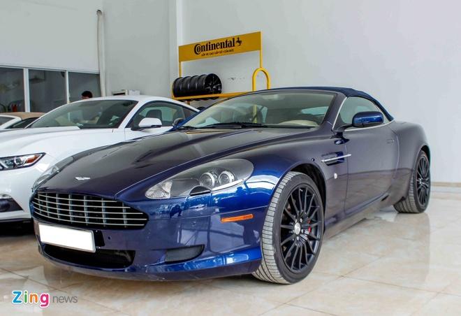 Aston Martin DB9 - sieu xe vang bong mot thoi tai Viet Nam hinh anh 2