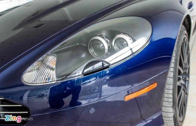Aston Martin DB9 - sieu xe vang bong mot thoi tai Viet Nam hinh anh 8