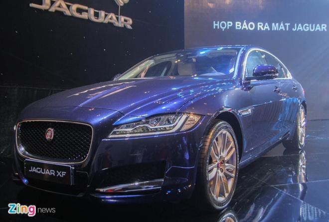 Jaguar XF - doi thu Mercedes E-Class ra mat tai Viet Nam hinh anh 1