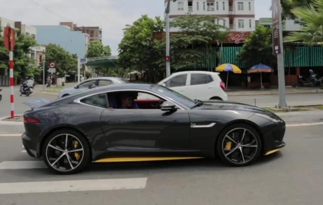 Do po tram trieu cho sieu xe Jaguar F Type-R o Da Nang hinh anh