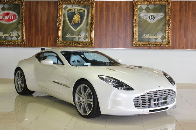 Chang trai Viet tu che mo hinh sieu xe Aston Martin One-77 hinh anh 4