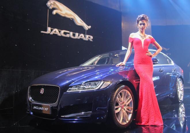 Chi tiet xe sang Jaguar XF vua ra mat tai Viet Nam hinh anh