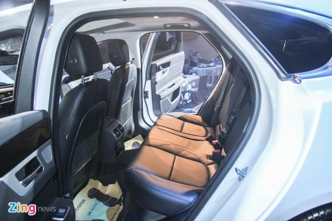 Chi tiet xe sang Jaguar XF vua ra mat tai Viet Nam hinh anh 14