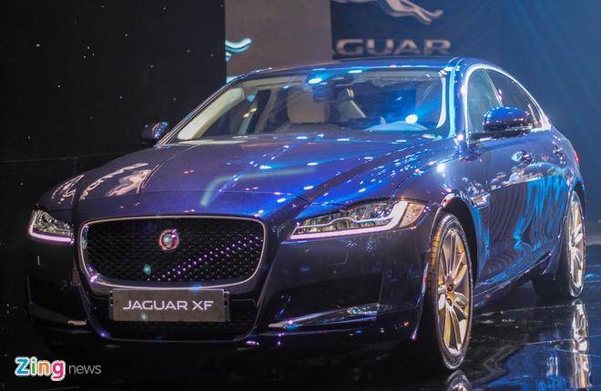 Chi tiet xe sang Jaguar XF vua ra mat tai Viet Nam hinh anh 15