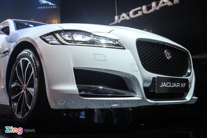 Chi tiet xe sang Jaguar XF vua ra mat tai Viet Nam hinh anh 5