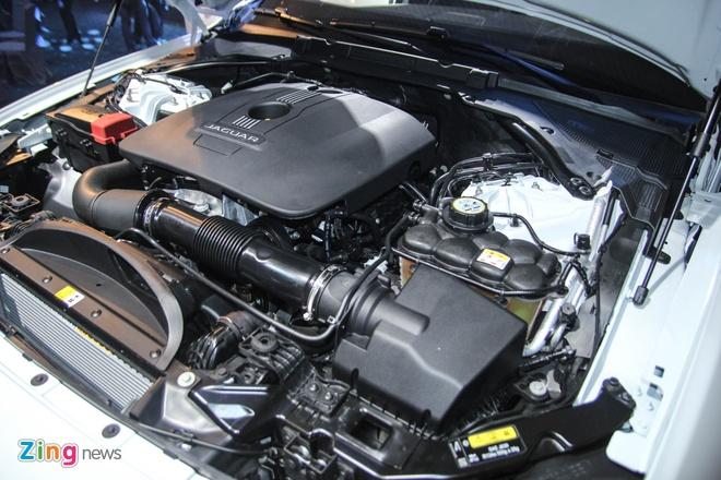 Chi tiet xe sang Jaguar XF vua ra mat tai Viet Nam hinh anh 8