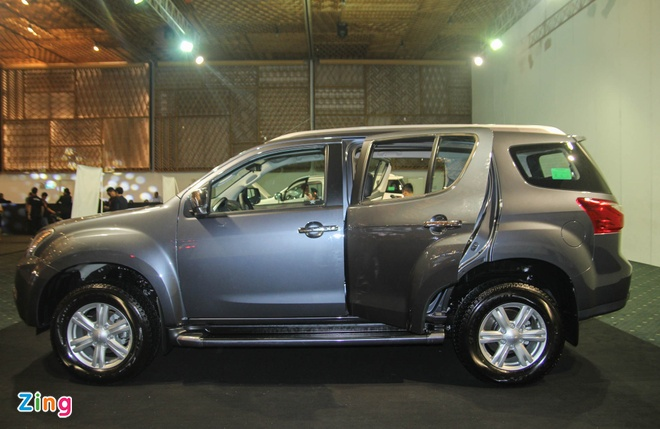 Chi tiet Isuzu MU-X: Doi thu gia mem cua Toyota Fortuner hinh anh 3