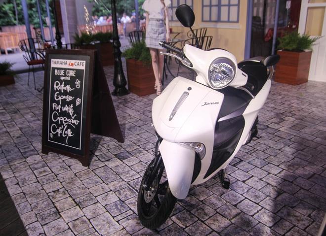 Chi tiet Yamaha Janus - xe ga danh cho nu gia 27,5 trieu hinh anh