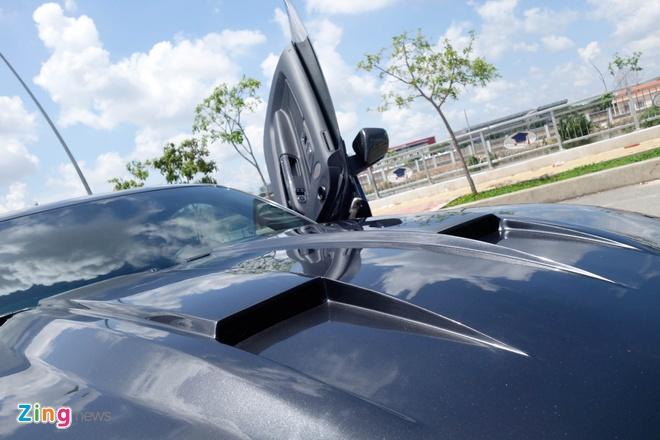 Ford Mustang do kieu Lamborghini het 250 trieu dong hinh anh 6